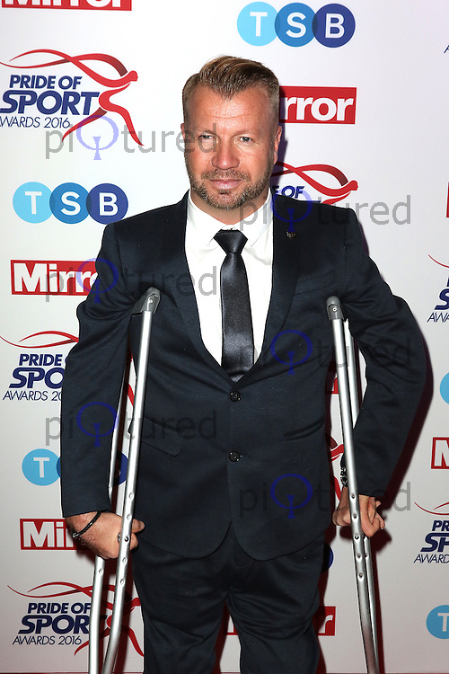 Lee Pearson, Pride of Sport Awards, Grosvenor House Hotel, London UK, 07 December 2016, Photo by Richard Goldschmidt