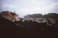 iceland, volcano which buried a town, 1973