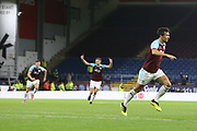 4 Jack Cork for Burnley FC scores during the Europa League third qualifying round leg 2 of 2 match between Burnley and Istanbul basaksehir at Turf Moor, Burnley, England on 16 August 2018.