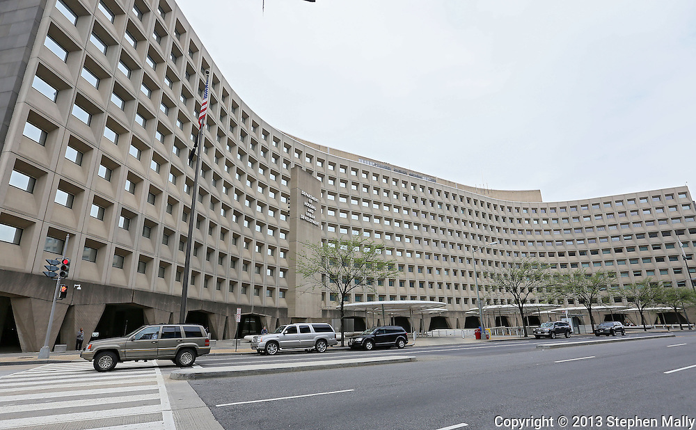The United States Department of Housing and Urban Development (HUD) at the Robert C. Weaver Federal Building in Washington, DC on Monday, April 15, 2013.