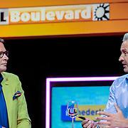NLD/Hilversum/20120821 - Perspresentatie RTL Nederland 2012 / 2013, Albert Verlinde en Erland Galjaard