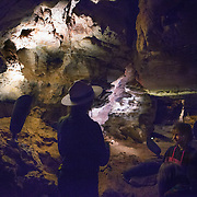 Wind Cave National Park, near Hot Springs in western South Dakota, was established in 1903 by President Theodore Roosevelt.  The cave is currently the sixth-longest in the world and notable for its displays of boxwork, a rare cave formation composed of thin calcite fins resembling honeycombs<br /> Photography by Jose More