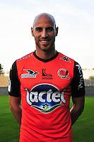Ludovic Guerriero - 17.09.2014 - Photo officielle Laval - Ligue 2 2014/2015<br /> Photo : Philippe Le Brech / Icon Sport