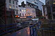 Construction work in, London. 28 January 2016