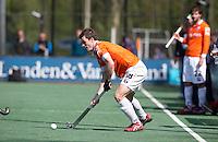 BLOEMENDAAL - HOCKEY - Fergus Kavanagh tijdens de play offs hoofdklasse hockeywedstrijd tussen de mannen van Bloemendaal en Rotterdam (1-4) . Rotterdam door naar de finale. FOTO KOEN SUYK