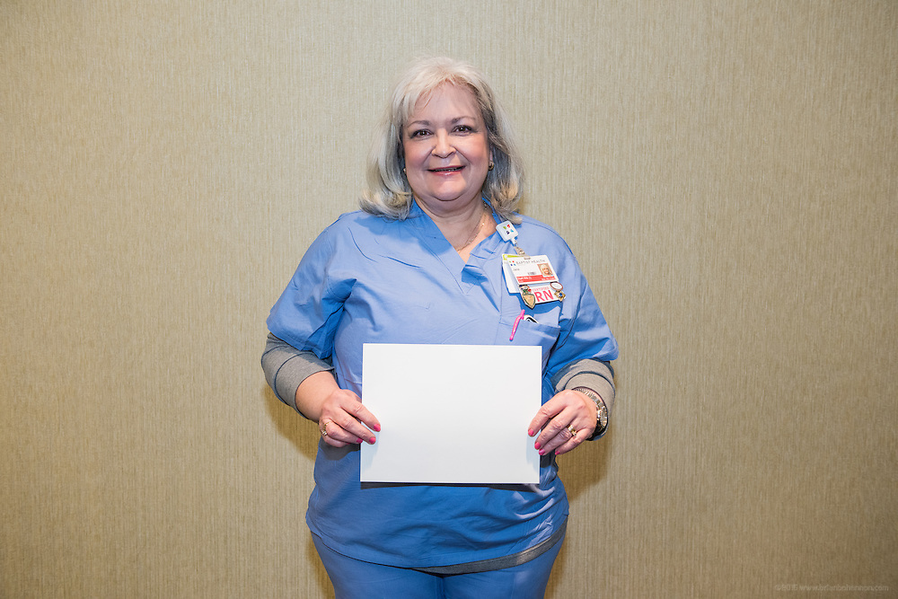 Jane - Cover of Excellence in nursing individuals for the nursing annual report, photographed Friday, Feb. 12, 2016 at Baptist Health in Louisville, Ky.