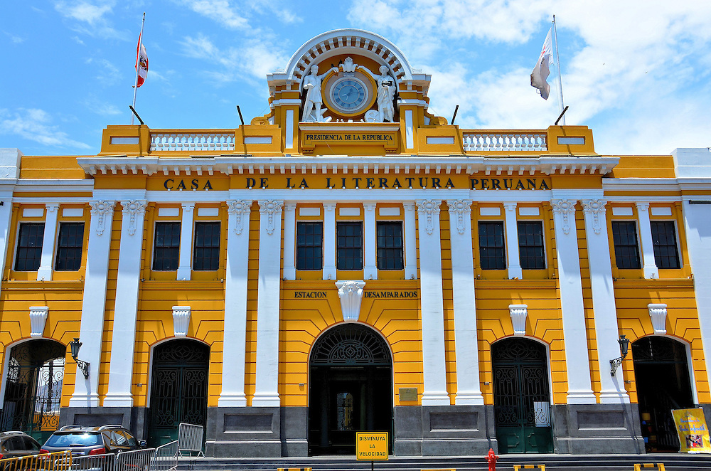 House of Peruvian Literature in Lima, Peru<br />