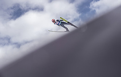 02.03.2019, Seefeld, AUT, FIS Weltmeisterschaften Ski Nordisch, Seefeld 2019, Skisprung, Mixed Team, Probesprung, im Bild Stefan Kraft (AUT) // Stefan Kraft of Austria during the trial jump in the mixed team competition in ski jumping of nordic combination of FIS Nordic Ski World Championships 2019. Seefeld, Austria on 2019/03/02. EXPA Pictures © 2019, PhotoCredit: EXPA/ JFK