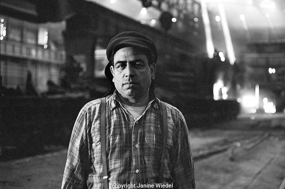 Melting Shop operative.<br />