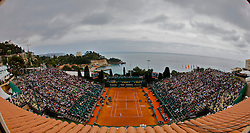 MONTE-CARLO, MONACO - Wednesday, April 23, 2008: A general view of centre court during the Masters Series Monte-Carlo at the Monte-Carlo Country Club. (Photo by David Rawcliffe/Propaganda)