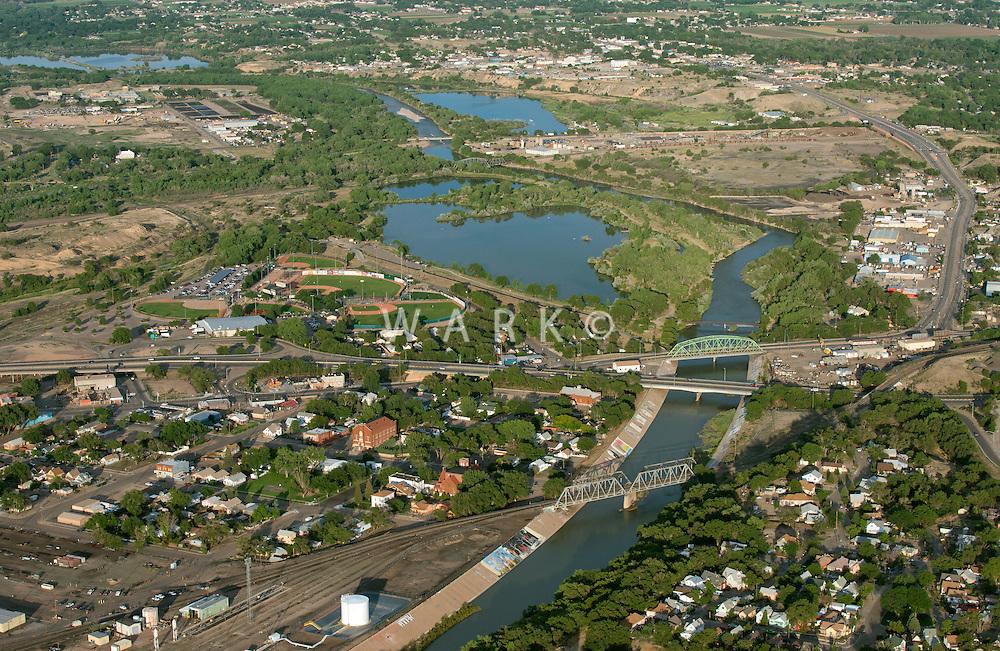 Pueblo, Colorado. The Grove, Arkansas River and Runyon Field. June 2014. 85721