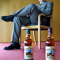 Highland Distillers. 1.8.01<br />Ian Greig, Famous Grouse brand manager<br /><br />Picture by Graeme Hart.<br />Copyright Perthshire Picture Agency<br />Tel: 01738 623350  Mobile: 07990 594431