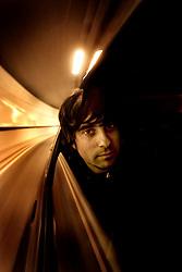 Barcelona,Spain.<br /> David Jornet,musician.<br /> &copy;Carmen Secanella.