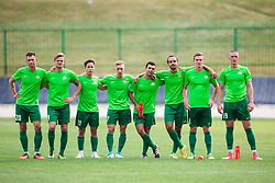 Players of ND Ilirija 1911 at penalty shots during football match between ND Ilirija 1911 and NK Krsko in 1st Round of Slovenian Football Cup 2017/18, on August 16, 2017 in Stadium Ilirija, Ljubljana, Slovenia. Photo by Vid Ponikvar / Sportida