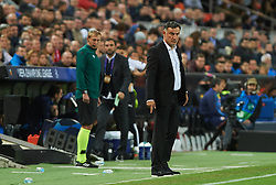 November 5, 2019, Valencia, Valencia, Spain: Christophe Galtier head coach of Losc Lille during the during the UEFA Champions League group H match between Valencia CF and Losc Lille at Estadio de Mestalla on November 5, 2019 in Valencia, Spain (Credit Image: © AFP7 via ZUMA Wire)