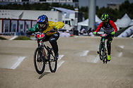 Cruiser - 13 & 14 Men #1 (TUCKER Thomas) AUS at the 2018 UCI BMX World Championships in Baku, Azerbaijan.