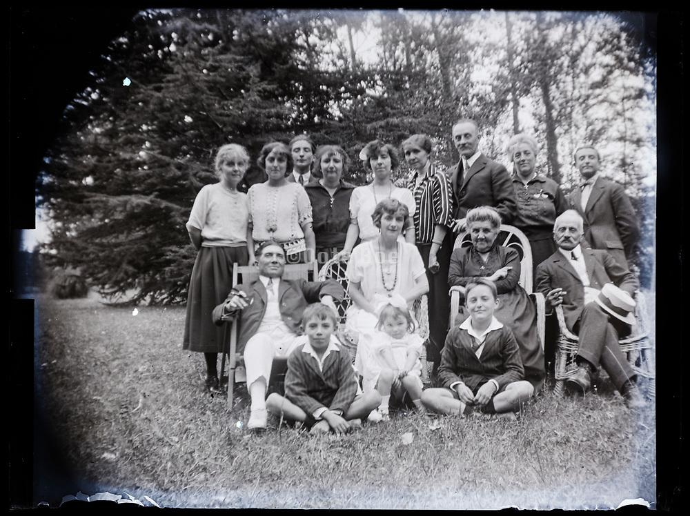 family gathering France 1923