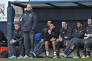 Picture by David Horn/Focus Images Ltd +44 7545 970036.05/01/2013.Stale Solbakken, Manager of Wolverhampton Wanderers looks on during the The FA Cup match at Kenilworth Road, Luton.