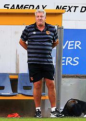 Hull City manager Steve Bruce looks dejected - Mandatory by-line: Matt McNulty/JMP - 19/07/2016 - FOOTBALL - One Call Stadium - Mansfield, England - Mansfield Town v Hull City - Pre-season friendly