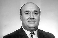 Robert Lloyd Hall-Thompson, Independent Unionist, Clifton, elected in 1969 General Election for the N Ireland Parliament at Stormont. He was a supporter of Prime Minister Captain Terence O'Neill. March 1969. 196903000088<br /> <br /> Copyright Image from Victor Patterson, 54 Dorchester Park, Belfast, UK, BT9 6RJ<br /> <br /> t1: +44 28 9066 1296 (from Rep of Ireland 048 9066 1296)<br /> t2: +44 28 9002 2446 (from Rep of Ireland 048 9002 2446)<br /> m: +44 7802 353836<br /> <br /> victorpatterson@me.com<br /> www.victorpatterson.com<br /> <br /> Please see my Terms and Conditions of Use at victorpatterson.com . It is IMPORTANT that you familiarise yourself with them.<br /> <br /> Images used on the Internet incur an additional cost and must be visibly watermarked i.e. ©Victor Patterson within the body of the image and copyright metadata must not be deleted. Images used on the Internet have a size restriction of 4kbs and are chargeable at rates available at victorpatterson.com.<br /> <br /> This image is only available for the use of the download recipient i.e. television station, newspaper, magazine, book publisher, etc, and must not be passed on to any third party. It is also downloaded on condition that each and every usage is notified within 7 days to victorpatterson@me.com<br /> <br /> The right of Victor Patterson to be identified as the author is asserted in accordance with The Copyright Designs And Patents Act (1988). All moral rights are asserted.