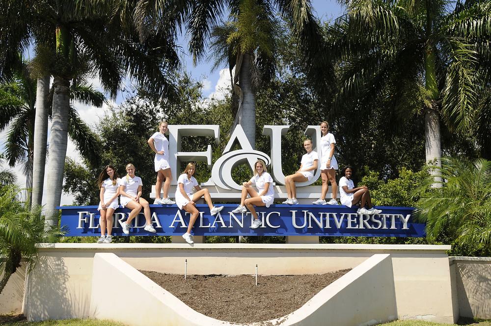 2010-11 FAU Women's Tennis Team Photo