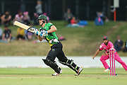 Stags Josh Clarkson batting during the Burger King Super Smash Twenty20 cricket match Knights v Stags played at Bay Oval, Mount Maunganui, New Zealand on Wednesday 27 December 2017.<br /> <br /> Copyright photo: © Bruce Lim / www.photosport.nz