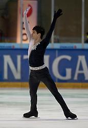 13.11.2010, Eishalle Liebenau, AUT, Icechallenge 2010, im Bild David Richardson (GBR) bei der Kür Herren, EXPA Pictures © 2010, PhotoCredit: EXPA/ Erwin Scheriau