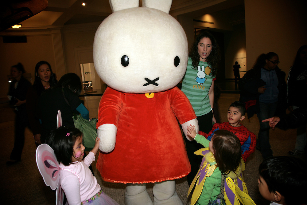 New York City children will join a host of cartoon characters, including Miffy, Curious George&reg;, and Teddy Roosevelt, at a special Halloween preview.  Assisted by their big-pawed friends and Teddy Roosevelt, the kids will make spooky origami, creepy crafts, and, of course, scoop up lots of candy.<br />