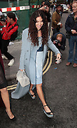 14.SEPTEMBER.2013. LONDON<br /> <br /> ELIZA DOOLITTLE ATTENDS THE HOUSE OF HOLLAND S/S 2014 CATWALK SHOW IN SOHO.<br /> <br /> BYLINE: EDBIMAGEARCHIVE.CO.UK<br /> <br /> *THIS IMAGE IS STRICTLY FOR UK NEWSPAPERS AND MAGAZINES ONLY*<br /> *FOR WORLD WIDE SALES AND WEB USE PLEASE CONTACT EDBIMAGEARCHIVE - 0208 954 5968*