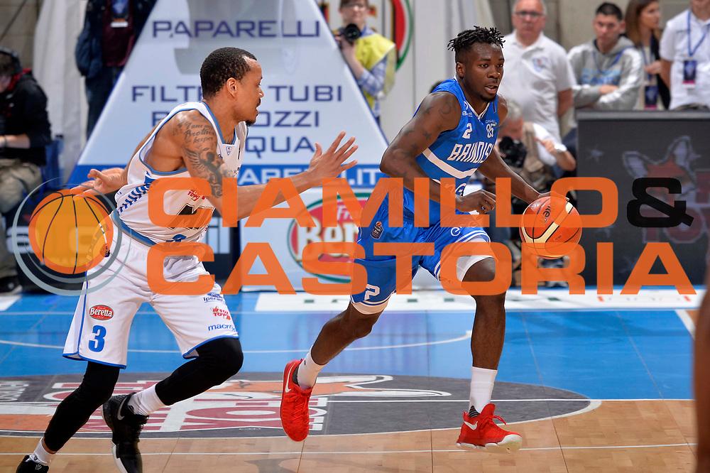 Durand  Scott<br /> Mia Cantu - Enel New Basket Brindisi<br /> Lega Basket Serie A 2016/2017<br /> Desio, 19/03/2017<br /> Foto Ciamillo - Castoria