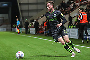 Forest Green Rovers Elliott Frear(17) during the EFL Sky Bet League 2 match between Morecambe and Forest Green Rovers at the Globe Arena, Morecambe, England on 22 October 2019.