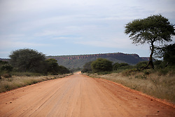 NAMIBIA GROOTFONTEIN 2MAY14 - Dust road at the Waterberg Plateau National Park near Grootfontein, Namibia.<br /> <br /> <br /> <br /> jre/Photo by Jiri Rezac<br /> <br /> <br /> <br /> &copy; Jiri Rezac 2014