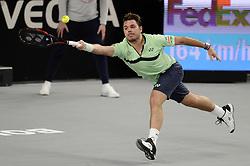 February 22, 2018 - Marseille, France - Stan WAWRINKA (SUI) - 1/8 finale (Credit Image: © Panoramic via ZUMA Press)