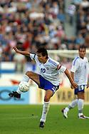 07.09.2002, Olympic Stadium, Helsinki, Finland..UEFA European Championship 2004 Qualifying match, Group 9, Finland v Wales..Jari Litmanen -  Finland.©Juha Tamminen