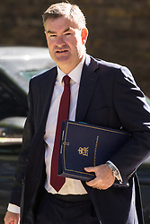 London, UK. 14 May, 2019. David Gauke MP, Lord Chancellor and Secretary of State for Justice, arrives at 10 Downing Street for a Cabinet meeting.