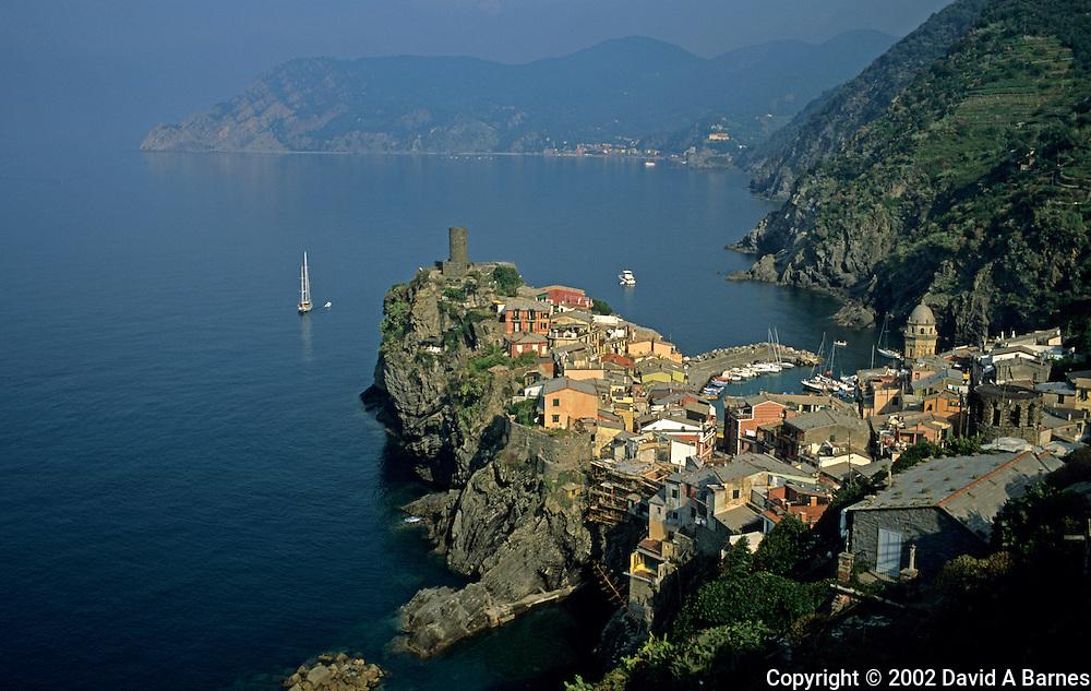 Vernazza; Liguria; Italy.Cinque Terre; Mediterranean