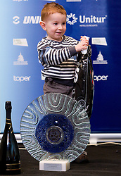 Miha Brajkovic, son of best rider Jani Brajkovic during the Slovenia's Cyclist of the year award ceremony by Slovenian Cycling Federation KZS, on December 11, 2010 in Hotel Mons, Ljubljana, Slovenia. (Photo By Vid Ponikvar / Sportida.com)