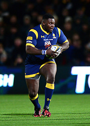 Biyi Alo of Worcester Warriors - Mandatory by-line: Dougie Allward/JMP - 04/11/2016 - RUGBY - Sixways Stadium - Worcester, England - Worcester Warriors v Bristol Rugby - Anglo Welsh Cup