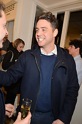 HARRY LANGTON at a private view entitled Stop Making Sense featuring work by Georgiana Anstruther and Carol Corell held at Lacey Contemporary, 8 Clarendon Cross, London on 9th March 2016.