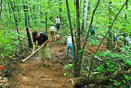 NTN trail building session with the IMBA Trail Crew in Marquette