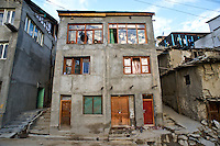A duplex in the in the city of Kargil