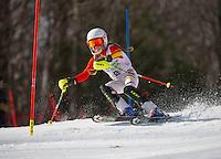 Piche  ~ Paul Ladouceur Memorial Slalom U12 girls with Gunstock Ski Club.  ©2016 Karen Bobotas Photographer