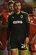AFC Wimbledon defender Rod McDonald (26)  during the EFL Sky Bet League 1 match between Walsall and AFC Wimbledon at the Banks's Stadium, Walsall, England on 12 February 2019.