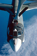 B52 Bomber preparing to refuel