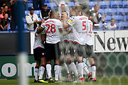 Bolton Wanderers celebrate Bolton Wanderers midfielder Will Buckley (11) goal 1-0 during the EFL Sky Bet Championship match between Bolton Wanderers and Bristol City at the Macron Stadium, Bolton, England on 11 August 2018.