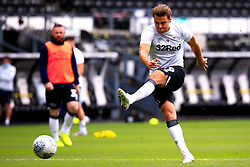 Chris Martin of Derby County during a warm-up exercise - Mandatory by-line: Ryan Crockett/JMP - 11/07/2020 - FOOTBALL - Pride Park Stadium - Derby, England - Derby County v Brentford - Sky Bet Championship