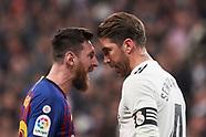 030219 Real Madrid v FC Barcelona, La Liga football match