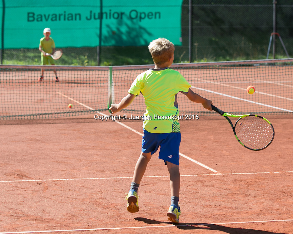 Bavarian Junior Open, Dreiviertel Feld Turnier<br /> <br /> Tennis - Bavarian Junior Open 2016 -  -  SC Eching - Eching - Bayern - Germany  - 13 August 2016. <br /> &copy; Juergen Hasenkopf