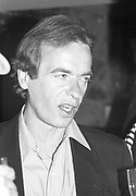 Martin Amis, Book launch. New York. 1995. SUPPLIED FOR ONE-TIME USE ONLY> DO NOT ARCHIVE. © Copyright Photograph by Dafydd Jones 248 Clapham Rd.  London SW90PZ Tel 020 7820 0771 www.dafjones.com
