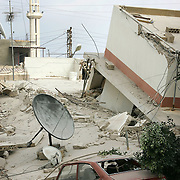 7th August 2006&amp;#xA;Tyre, Lebanon&amp;#xA;Israeli Airstrikes in Tyre&amp;#xA;Mid afternoon on the 7th August 2006 Israeli jets destroyed several apartment blocks in the same area that Israeli Special Forces launched a raid a few nights before against Hezbolla.<br />